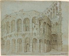 Paolo Farinati | 1524-1606 | The Arena in Verona | The Morgan Library & Museum
