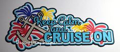 Cruise die cut Cruise scrapbooking Travel by DancingDaisyDiecuts