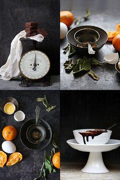 Orange Almond Chocolate Gateau