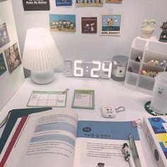Aesthetic Rooms, Studyblr, Study Motivation, Desk Decorations, Room Decor, Study Areas, Stationary, Sticker, Journal