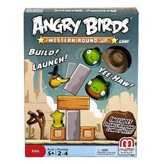 Angry Birds Western Round-Up Game by Mattel
