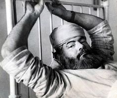 Ernest Hemingway by Robert Capa