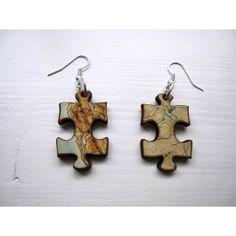 #laser #cut #lasercut #jewelry #necklace #wood #earring #earrings #earcuff www.creativeuseoftechnology.com