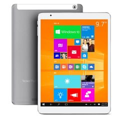 [$248.32] Teclast X98 Pro WiFi 9.7 inch Windows 10 and Android 5.1 Dual OS Tablet PC, Intel Z8500 Quad Core 1.44-2.24GHz, ROM: 64GB, RAM: 4GB, Support WiDi, Bluetooth, Micro-HDMI,USB-OTG (White + Grey)