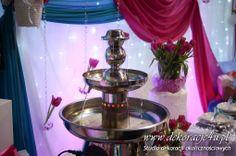 Fontanna alkoholowa - ciekawa atrakcja - www.inspiracje-weselne.pl