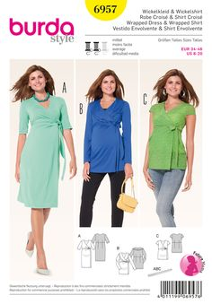 Simplicity Creative Group - Burda Style Maternity Wear