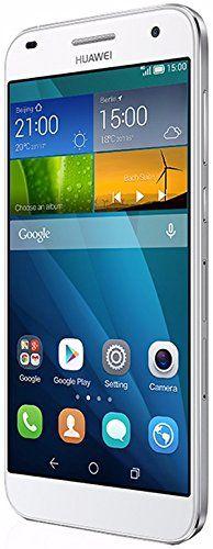 "Huawei G7 - Smartphone libre Android (pantalla 5.5"", cámara 13 Mp, 16 GB, Quad-Core 1.2 GHz, 2 GB RAM), blanco (importado)"