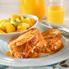 Creamy, crunchy, sweet, and salty come together in a breakfast like the ones Mom used to make.