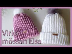 Virka mössan Elsa | För nybörjare - YouTube Baby Boutique Clothing, Diy Clothing, Yarn Crafts, Diy And Crafts, Elsa, Knitting Patterns, Crochet Patterns, Crochet Cap, Knitting For Kids