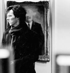 Benedict Cumberbatch in Sherlock's The Blind Banker.