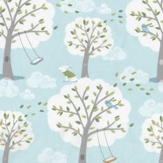 Windy Day Fabric by the Yard | Carousel Designs