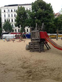 Spielplatz - Kollwitzkiez - Berlin