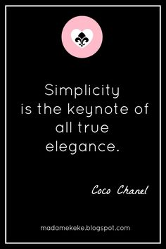 Coco Chanel #quotes #words