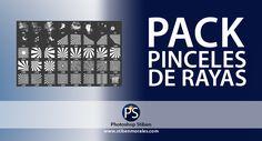 Pack Pinceles de Rayas – Gratis - Por Stiben Morales