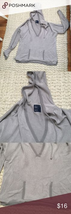 AE Beach Pull Over Hoodie So soft and cute! Like brand new! Fits like a large. American Eagle Outfitters Jackets & Coats