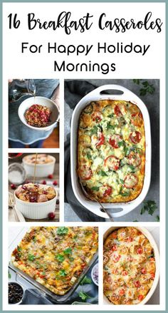16 Breakfast Casseroles for Happy Holiday Mornings