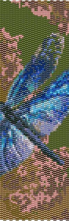 Peyote Bracelet Beading Pattern for Advanced by BellestriOriginals