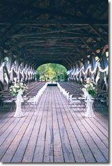 covered bridge wedding I wish