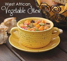 African vegetable stew. With peanut butter!  http://www.findingvegan.com/west-african-vegetable-stew-2/#.Uquippdc3NY.twitter