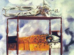 Frida Kahlo (1940) : Il Sogno (Il Letto)