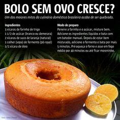 Bolo de laranja vegano