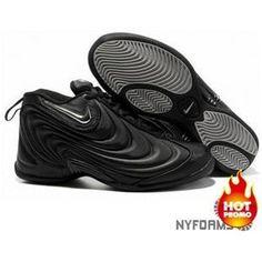 best service 0bcdd 69b35 Nike Air Flightposite 1 Metallic Black Grey Nike Shoes Online, Nike Shoes  For Sale,