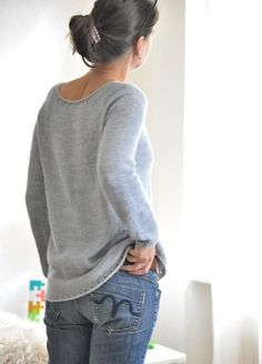 To show off the beauty and wonderful drape of the yarn, the design is pared down from any visible construction, classy and elegant with some cute little eyelet details for the fun to knit AND to wear! Find this beautiful sweater pattern and more knitting inspiration at LoveKnitting.Com.