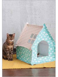 Cat House  This ingenious cat bungalow will keep your pampered pet comfortable in style.    Penny Layman  eProject  Write a review  $4.00  Availability: Download Now