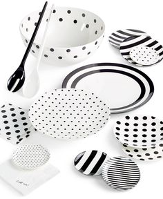 "kate spade new york ""Raise a Glass"" Collection - kate spade Casual Dinnerware - Dining & Entertaining - Macy's Serveware, Tableware, Kitchenware, Dinnerware Sets, Outdoor Dinnerware, Melamine Dinnerware, Glass Collection, Tupperware, Home Accessories"