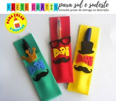 Ideas Día Del Padre, Foam Crafts, Paper Crafts, Kids Class, Father's Day Diy, Dad Day, Fathers Day Crafts, Diy Home Crafts, School Projects