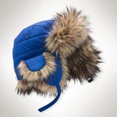 Quilted Bomber Hat - Baby Boy Accessories - RalphLauren.com 8fb12c5fd043