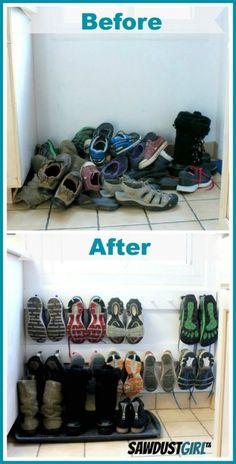 18 maneiras de otimizar o espaço de casa e armazenar materiais   Estilo