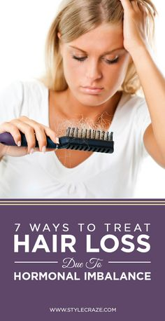 7 Effective Ways To Treat Hair Loss Due To Hormonal Imbalance #haircare
