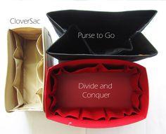 Purse Organizers for Louis Vuitton Neverfull GM | CloverSac