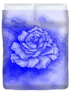 Celestial Rose Duvet Cover for Sale by Faye Anastasopoulou Rose Duvet Cover, Duvet Covers, Canvas Art, Canvas Prints, Cloud Shapes, Thing 1, Bloom Blossom, Sketch Ink, Paintings For Sale