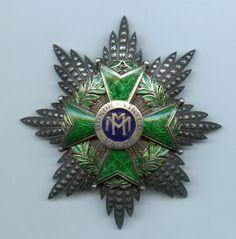 Cuba Cuban Order of Military Merit Breast Star Green Enamel RARE | eBay