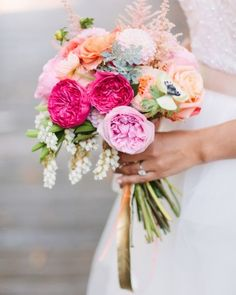 """See the """"The Bridal Bouquet"""" in our A Whimsical Art Museum Wedding in San Diego, California gallery"""