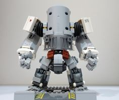 A post-apocalyptic mech with hints of Cherno Alpha http://www.brothers-brick.com/2016/01/29/a-post-apocalyptic-mech-with-hints-of-cherno-alpha/