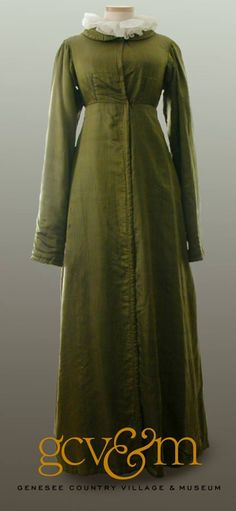 Early 1800 Pelisse from the Susan Green Collection at the John L Wehle Gallery atthe Genesee Country Village & Museum