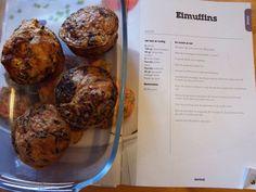 Ei groente muffins- makkelijke werklunch