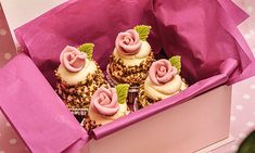Mousse, Cupcakes, Desserts, Food, White Chocolate, Tailgate Desserts, Cupcake Cakes, Deserts, Essen