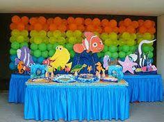 Resultado de imagen para fiestas infantiles tematicas buscando a dory 2016
