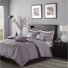 Grey and purple bedroom gray and lavender bedroom medium size of bed bath mauve and grey . grey and purple bedroom Purple Master Bedroom, Grey Bedroom Decor, Purple Bedrooms, Bedroom Ideas, Dark Gray Bedroom, Purple Bedding, Queen Bedroom, Gray Bedroom Color Schemes, Grey Bedroom Walls