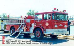 San Antonio Fire Department American LaFrance Engines / Pumpers