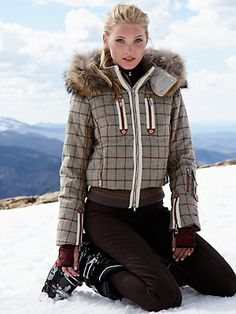 Bogner - ( I still have a Bogner ski coat from the '80s. I loved it! Maybe if I keep it long enough it will come back in style :)