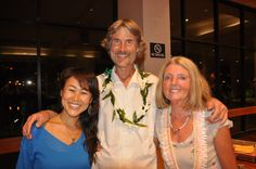 2015/4/15 Will Tuttle's talk, Will, his wife and Kiko