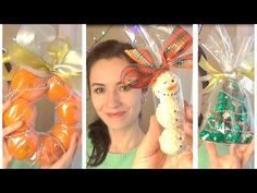 Подарки на Новый год своими руками. 3 DIY. Оригинальные идеи 2017 - YouTube Rustic Christmas, Christmas Bulbs, Christmas Decorations, Xmas, Holiday Decor, New Year Diy, New Year Gifts, Cool Gifts, Diy Gifts