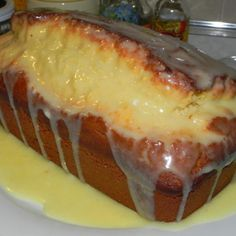 Do you love Eggnog?  Well, you will enjoy this quick bread.  It is really hard to eat just one slice.  This bread has a beautiful golden color to it just like eggnog. The glaze makes it even tastier.  This bread would be a great addition to any holiday Christmas festivities or for breakfast with a nice hot cup of coffee.  Even though my mother and sister don't like to drink eggnog they really enjoyed this bread. Also, my nephew Noah (who is a picky eater) really liked it too.   Hope you will…