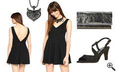 3 Outfit Tipps fürs erste Date: http://www.kleider-deal.de/schwarzes-kleid-mit-v-ausschnitt-outfit-erste-date/ #VAusschnitt #Ausschnitt #Kleider #Dress #Outfit #Date #Cocktailkleider #Fashion