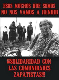 Solidaridad con BAEZLN de colectivos y personas desde distintas geografías de México y el mundo